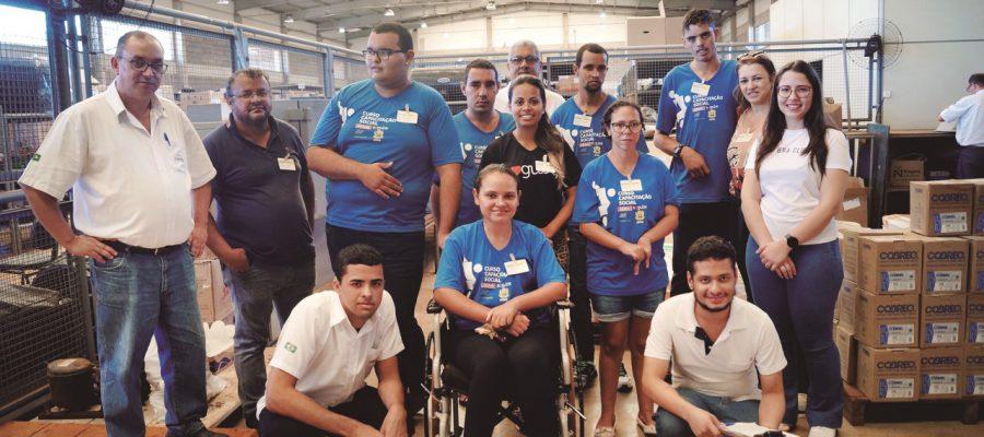 INCLUSÃO: Alunos  do Curso Capacitação Social de  Miguelópolis  são recebidos em visita  pela Usina Colorado